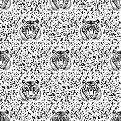 pattern of tiger.