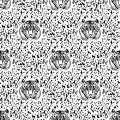 pattern of tiger.