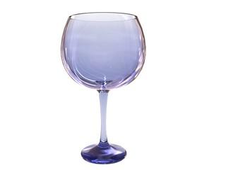 glass render in blue tones