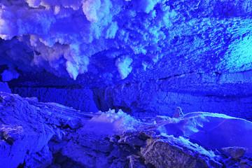 Kungur Ice Cave. Perm Krai. Russia
