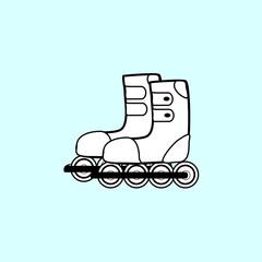 pair of roller skates sports Hobbies