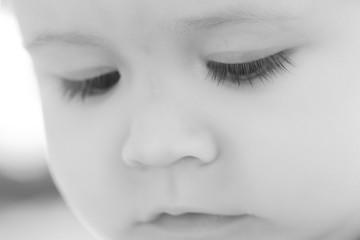 Portrait of little baby boy