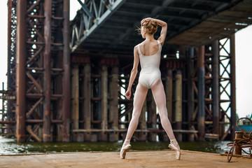 Ballet on a rusty platform