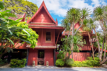 The House of Jim Thompson - the Thai Silk Museum in Bangkok, Thailand