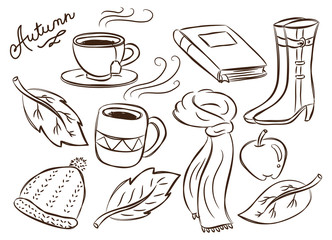 autumn doodle