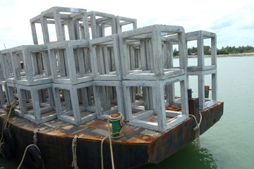 Ship artificial reef.