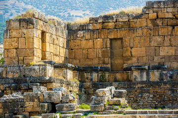 Printed roller blinds Ruins ruins of the ancient city Hieropolis
