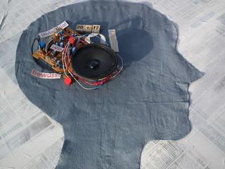 Hochleistungscomputer Gehirn