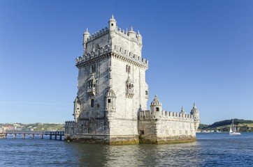 Torre de Belem tower, Lisbon, Portugal