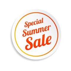Special Summer Sale Sticker