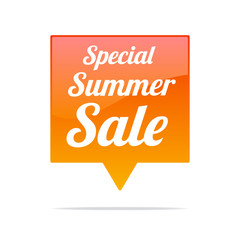 Special Summer Sale Tag