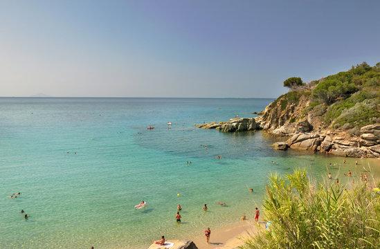 Spieggia di Cavoli, Isola d'Elba, Italia
