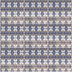 Fotomurales - Ceramic tile background, museum Azulejo, Lisbon, Portugal.
