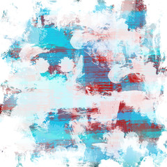 Spoed Foto op Canvas Wereldkaart Color paint background