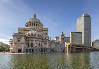 The architecture of Boston in MA, USA.