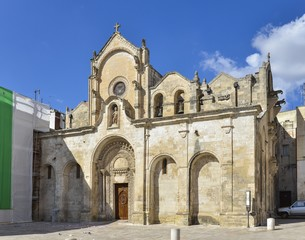 an Giovanni Battista Church in Matera, Southern Italy