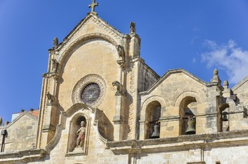 San Giovanni Battista Church in Matera, Southern Italy