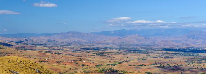 Panorama of the Madagascar nature