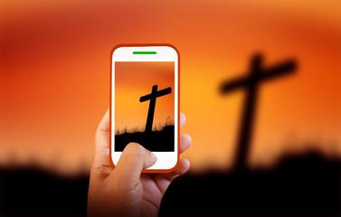 Mobile photography Cross