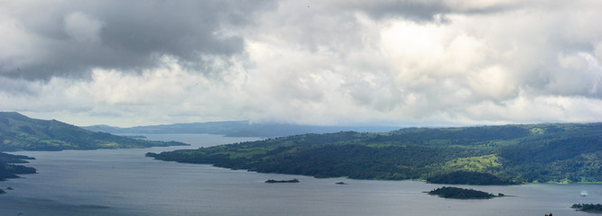 Panorama of Costa Rica