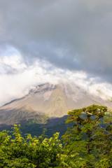 Rock, cloud, dark time in Costa Rica
