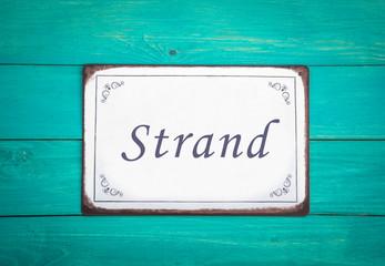Fototapete - strand