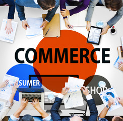Commerce Consumer Shop Shopping Marketing Concept