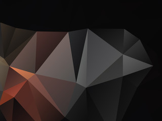 Abstract Triangular Background Light and shade