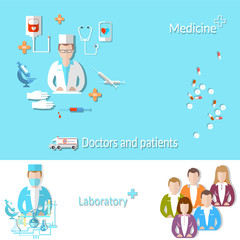 Medicine: doctor, patient, medical education, research