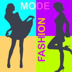 silhouette mode