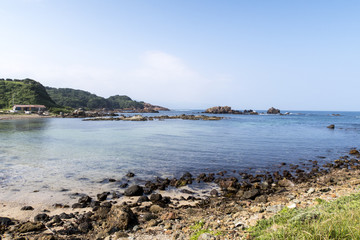 爪木崎公園の海水浴場