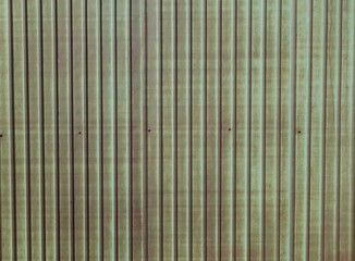 Rusted brown zinc corrugated sheet