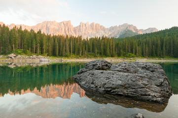 Lago di Carezza Catena Latemar