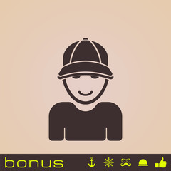 icon man in hat 3