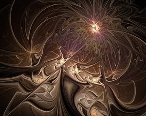 Abstract fractal design.