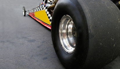 Dragster race car
