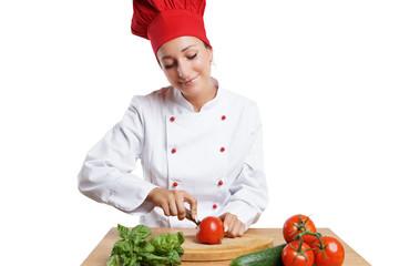 """Bilder und Videos suchen: """"gasthaus gastrono""""   {Köchin bei der arbeit 13}"""