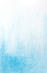 abstract watercolor light blue background. vector illustration