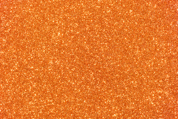 orange glitter texture background