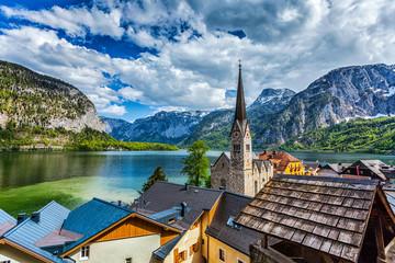 Hallstatt village, Austria Fototapete