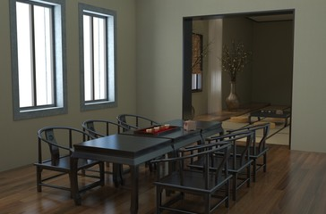 Office Photorealistic Render