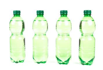 Wasserflasche freigestellt