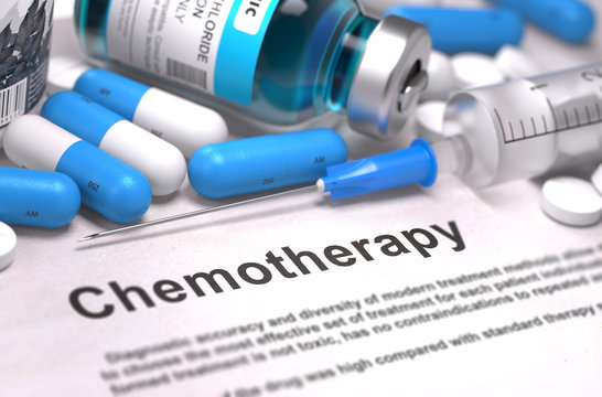 Chemotherapy - Medical Concept. Composition of Medicame.