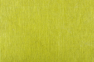 Green table napkin surface pattern