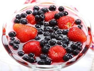 Fruit dessert.