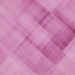 abstract pink background pattern of diagonal shapes layered in angles diamonds rectangles squares and lines, abstract graphic art design pattern