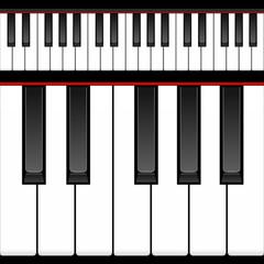 ピアノ 鍵盤 イラスト
