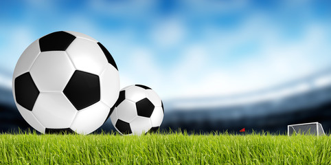 soccer and football background