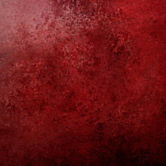 vintage red background texture with black grunge