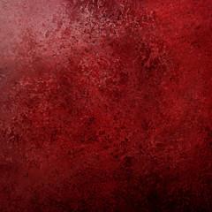 vintage red background texture with black grunge